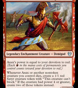 Anax, Hardened in the Forge (FOIL)