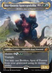 Brokkos, Apex of Forever (Bio-Quartz Spacegodzilla - Godzilla Series)
