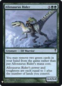 Allosaurus Rider (FOIL)