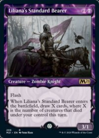 Liliana's Standard Bearer (Showcase) (FOIL)