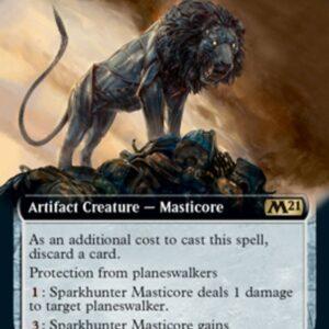 Sparkhunter Masticore (Extended) (FOIL)