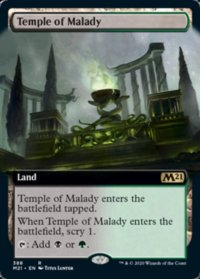 Temple of Malady (Extended) (FOIL)