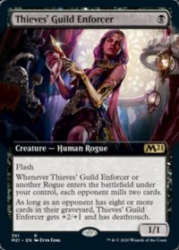 Thieves' Guild Enforcer (Extended) (FOIL)