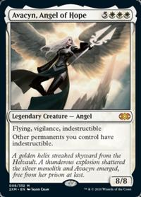 Avacyn, Angel of Hope (Double Masters Boxtopper) (FOIL)