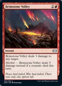 Brimstone Volley (FOIL)