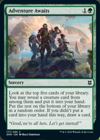 Adventure Awaits (FOIL)