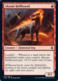 Akoum Hellhound (FOIL)
