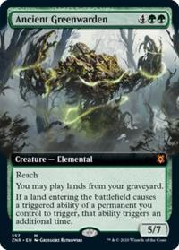 Ancient Greenwarden (Extended Art) (FOIL)
