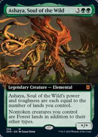 Ashaya, Soul of the Wild (Extended Art) (FOIL)