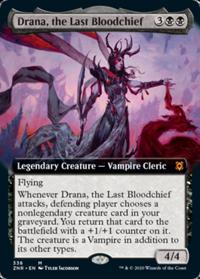 Drana, the Last Bloodchief (Extended Art) (FOIL)