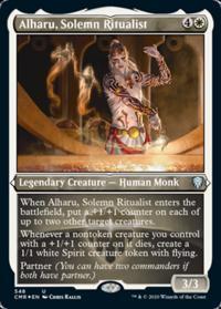 Alharu, Solemn Ritualist (FOIL-Etched)