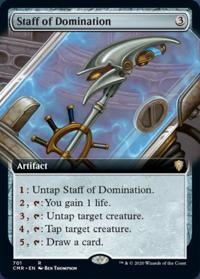 Staff of Domination (Extended Art) (FOIL)