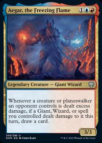 Aegar, the Freezing Flame (FOIL)