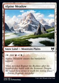 Alpine Meadow (FOIL)
