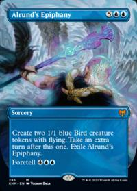 Alrund's Epiphany (Borderless) (FOIL)