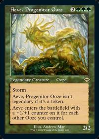 Aeve, Progenitor Ooze (FOIL-Etched Retro Frame)